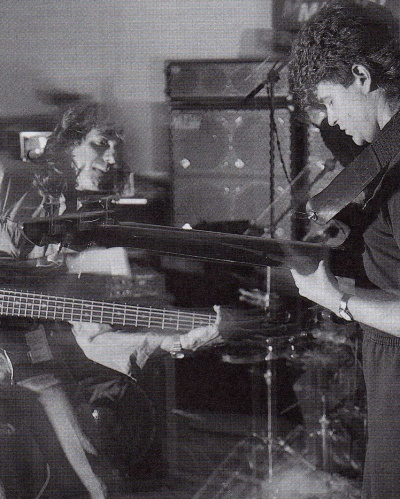 Joe Hubbard and Tim Landers at the Bass Weekend 1988