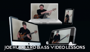 Web pic 3 300x176 Joe Hubbard Launches New Bass Video Lessons Membership Website!