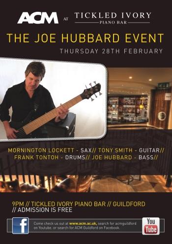 Joe Hubbard Event