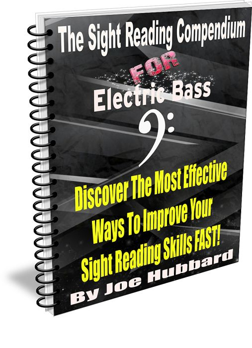 The Sight Reading Compendium for Electric Bass